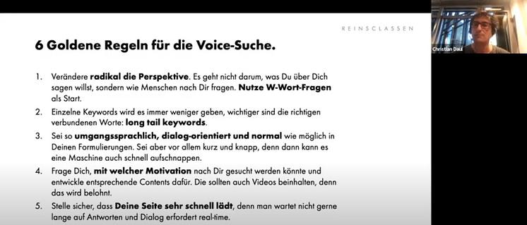 6 goldene regeln für die voice suche