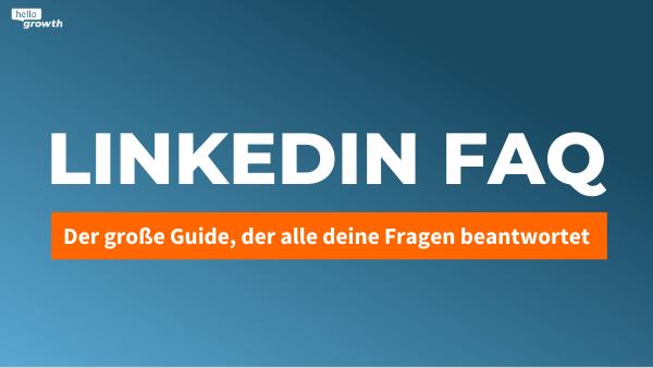LinkedIn FAQ Blog Post Header