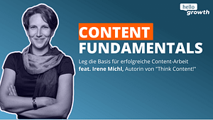 irene michl ist expertin für content marketing