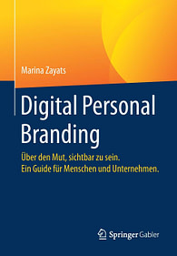 Marina Zayat Digital Personal Branding Springer Buch