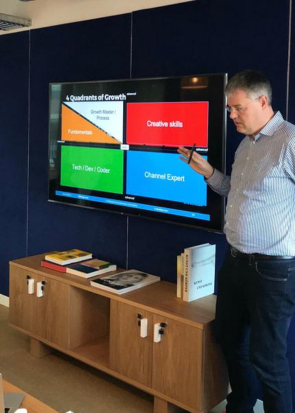 Thorsten Strauss - growth hacking seminar wework