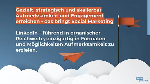 Linkedin Social Marketing - Hello Growth