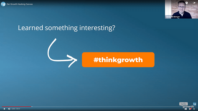 Growth Hacking Meetup - Growth Canvas - Hello Growth - thinkgrowth