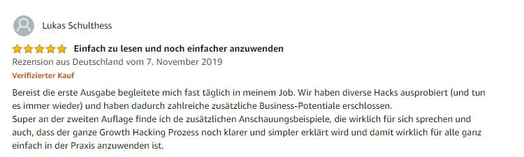 Amzon Kundenrezension 2 Buch Growth Hacking von Herzberger und Jenny.png